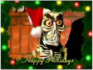 Achmed sings 'Jingle Bombs'