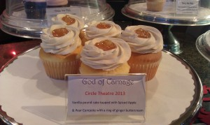 GOD OF CARNAGE Cupcakes