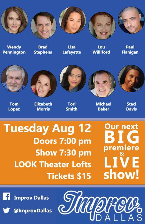 Improv Dallas Show 20140812