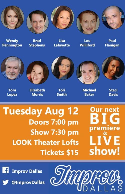 Improv Dallas Show 20140812